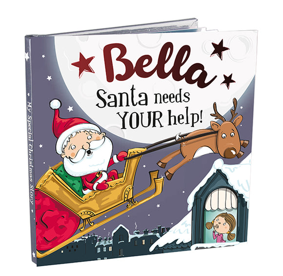 Christmas Storybook - Santa Needs Your Help (Bella)