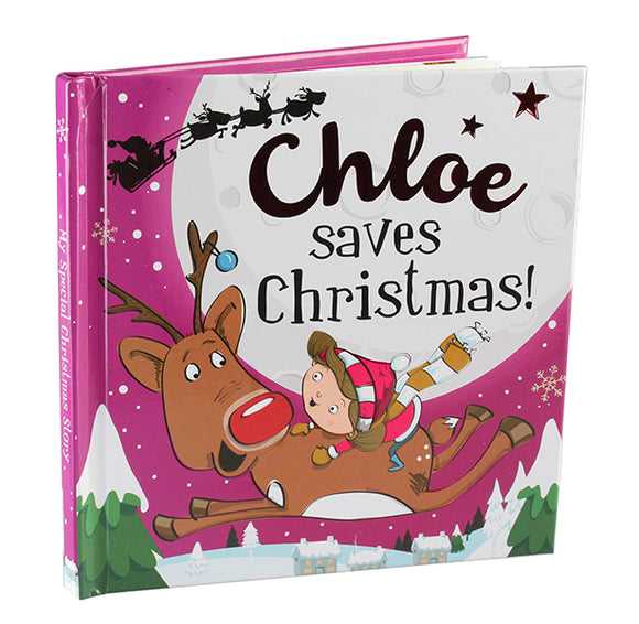 Christmas Storybook - Santa saves Christmas (Chloe)