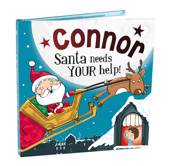 Christmas Storybook - Santa Needs Your Help (Connor)