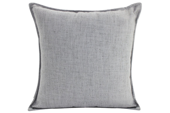 Plain Cushion - Linen  Light Grey 45 x 45