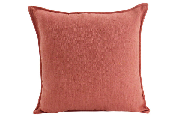 Plain Cushion - Rust 45 x 45