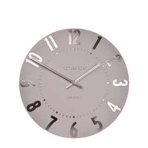 Wall clock in blush pink - Mulberry range