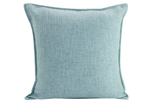 Plain Cushion - Linen Light Blue 55 x 55