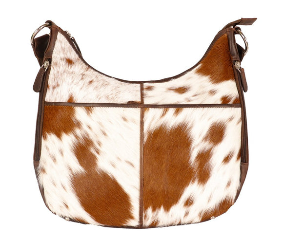 Cenzoni Hairon Oil Pull Up Leather Bag - HOPTC03 Brown