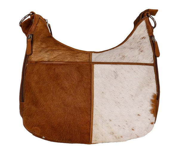 Cenzoni Hairon Oil Pull Up Leather Bag - HOPTC03 Tan