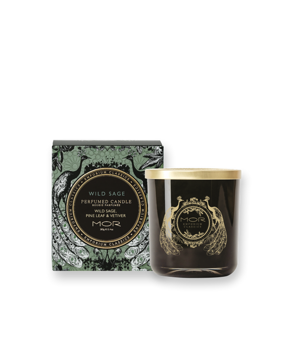 MOR - Wild Sage Perfumed Candle 380g