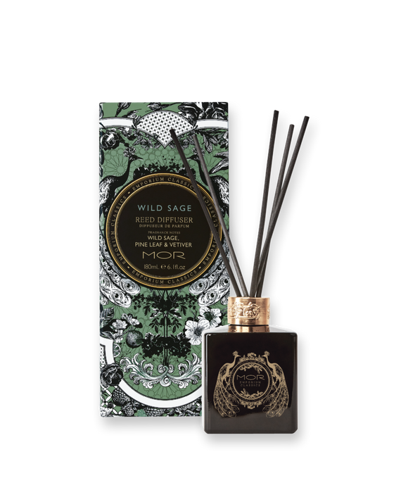 MOR - Wild Sage Reed Diffuser 180ml