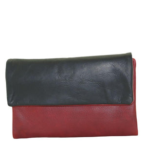 Cenzoni Oil Pull Up Ladies Wallets - ZOPTF01 Red - Black