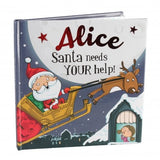 Christmas Storybook - Santa Needs Your Help (Alice)