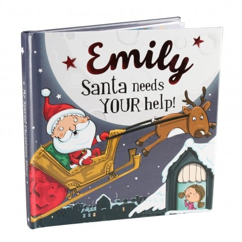 Christmas Storybook - Santa Needs Your Help (Emily)