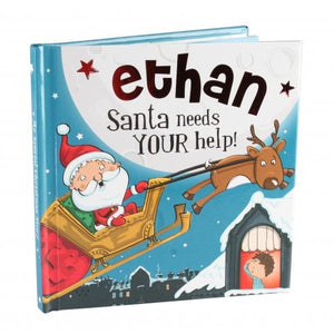 Christmas Storybook - Santa Needs Your Help (Ethan)