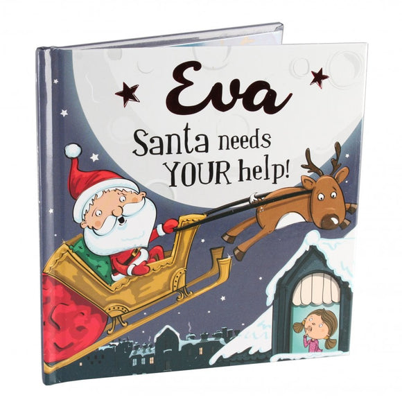 Christmas Storybook - Santa Needs Your Help (Eva)