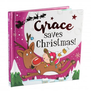 Christmas Storybook - Santa saves Christmas (Grace)