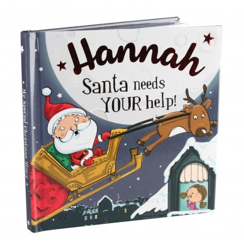 Christmas Storybook - Santa Needs Your Help (Hannah)