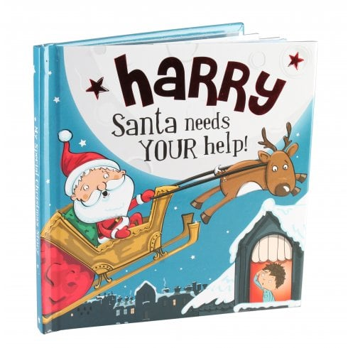 Christmas Storybook - Santa Needs Your Help (Harry)