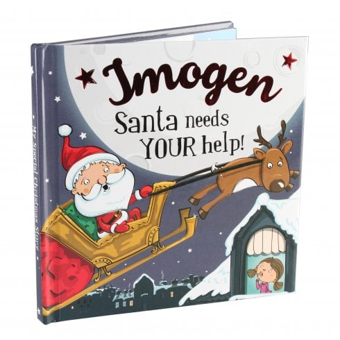 Christmas Storybook - Santa Needs Your Help (Imogen)