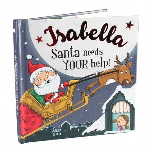 Christmas Storybook - Santa Needs Your Help (Isabella)