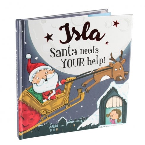 Christmas Storybook - Santa Needs Your Help (Isla)