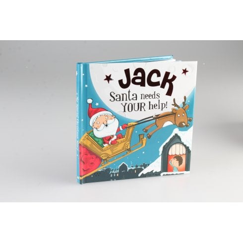 Christmas Storybook - Santa Needs Your Help (Jack)