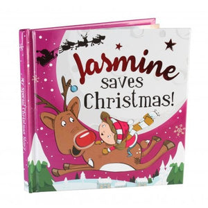 Christmas Storybook - Santa saves Christmas (Jasmine)