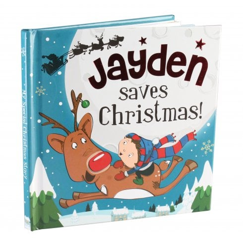 Christmas Storybook - Santa saves Christmas (Jayden)
