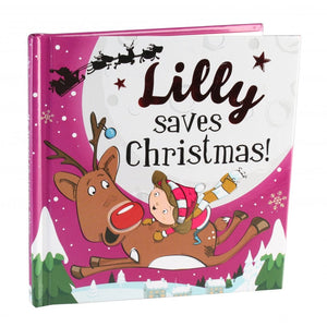 Christmas Storybook - Santa saves Christmas (Lilly)