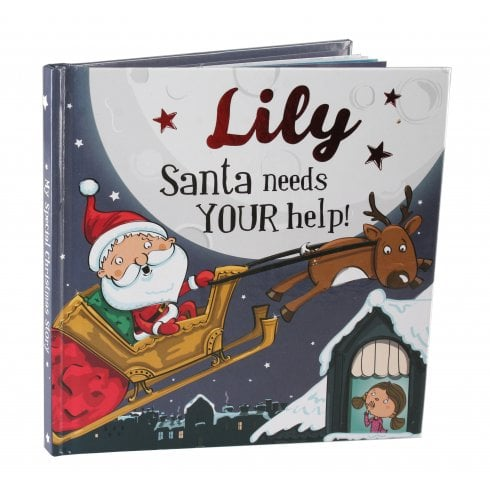 Christmas Storybook - Santa Needs Your Help (Lily)
