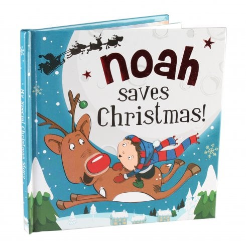 Christmas Storybook - Santa saves Christmas (Noah)