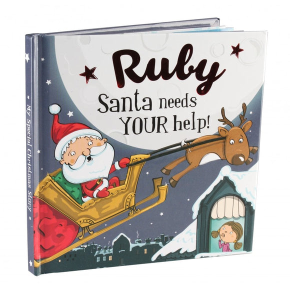Christmas Storybook - Santa Needs Your Help (Ruby)