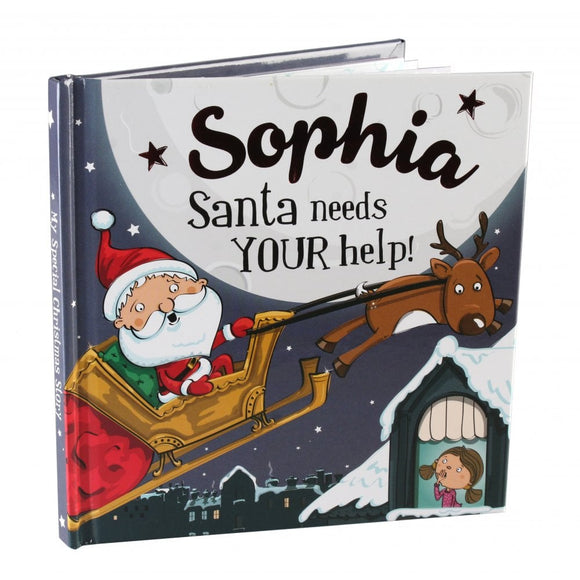 Christmas Storybook - Santa Needs Your Help (Sophia)