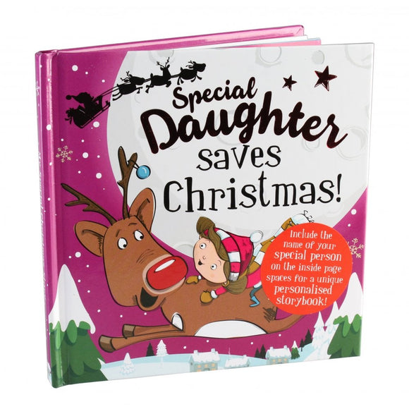 Christmas Storybook - Santa saves Christmas ( Special Daughter )