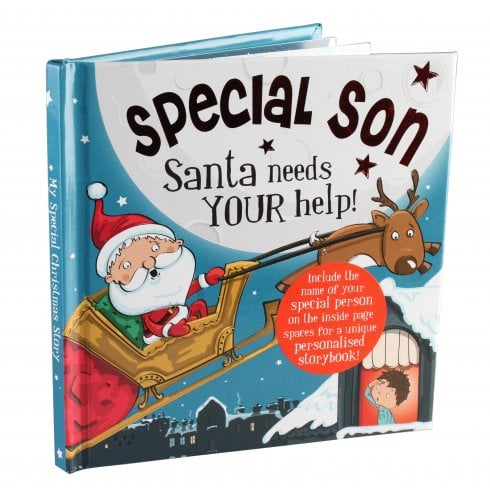 Christmas Storybook - Santa Needs Your Help    ( Special Son )