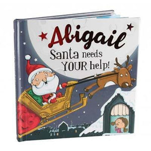 Christmas Storybook - Santa Needs Your Help (Abigail)