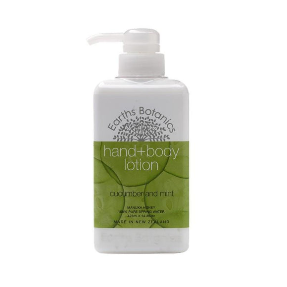 Cucumber & Mint - Nourishing Hand & Body Lotion 425ml