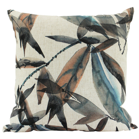 Cushion - Ravina - Blue/Brown