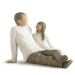 Willow Tree Figurine - Father & daughter
