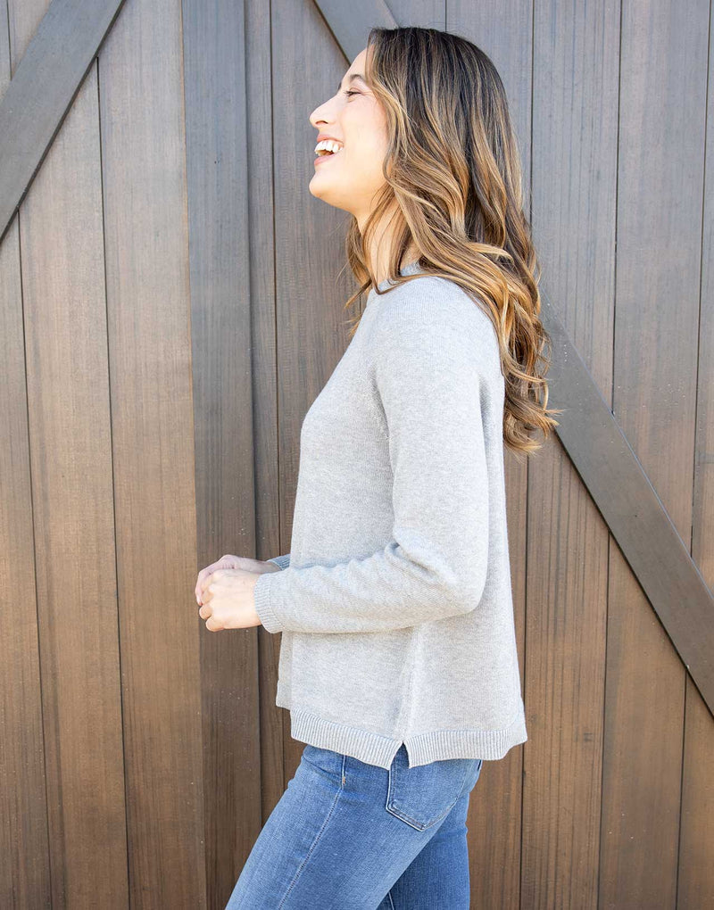 Lightweight Relaxed Sweater