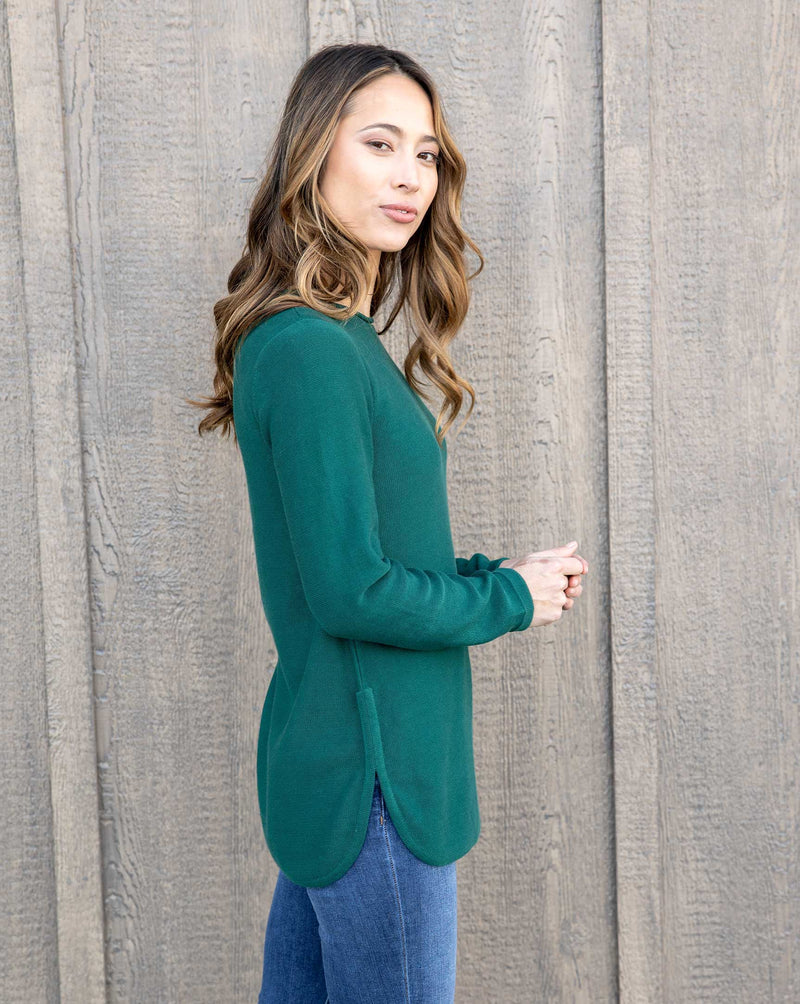 Maria Side Slit Sweater