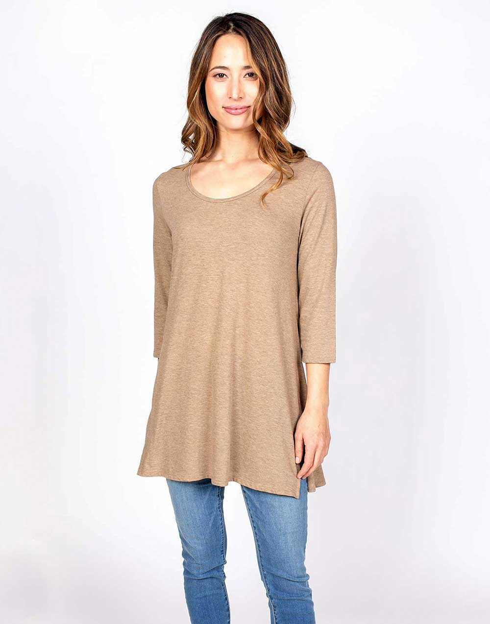 Organic Cotton Flame Tunic