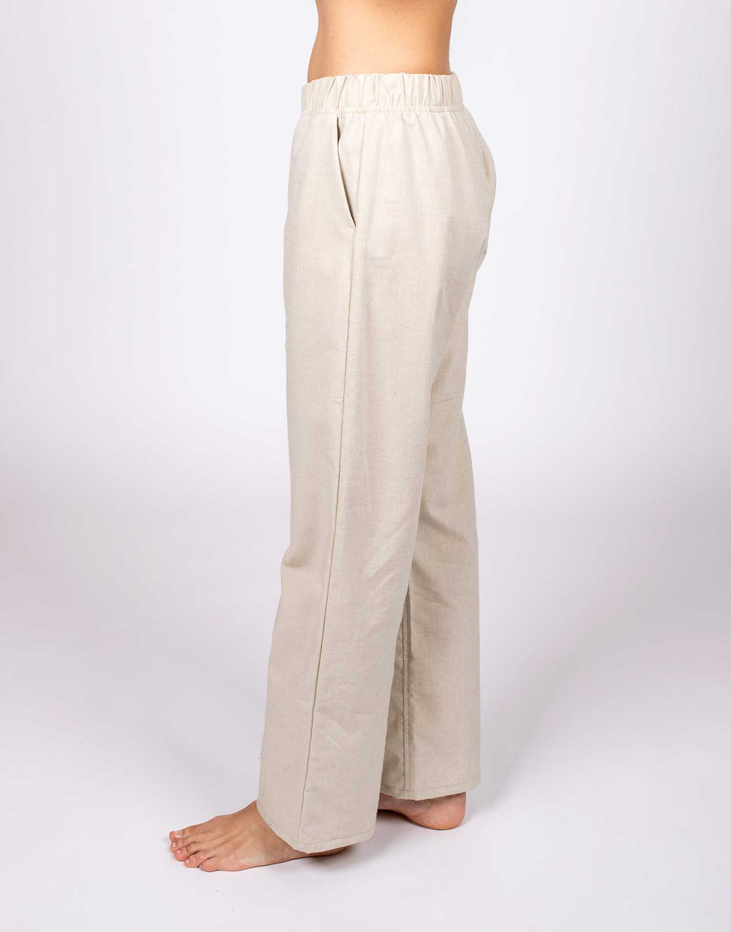 Organic Cotton Woven Pajama Pants