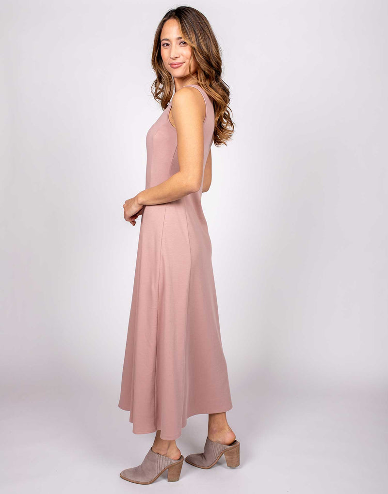 Princess Seam Maxi Dress
