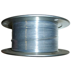 "1/8"" 7X7 Galvanized Aircraft Cable"
