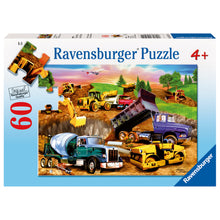 Load image into Gallery viewer, Ravensburger - 60 Piece Puzzle - Construction Crowd