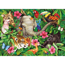 Load image into Gallery viewer, Ravensburger - Tropical Friends - 60 Piece Puzzle