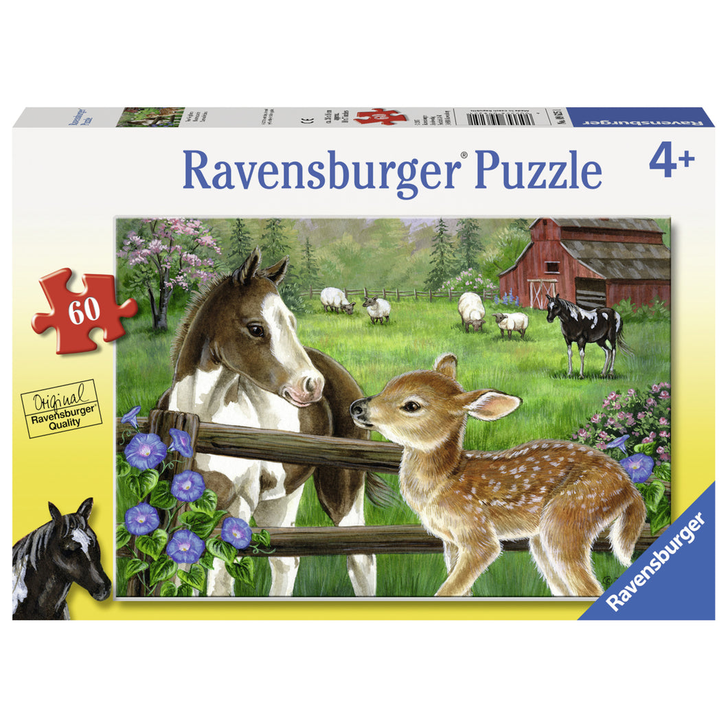 Ravensburger - New Neighbours - 60 Piece Puzzle