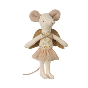 Maileg - Angel Mouse In A Tin - Big Sister