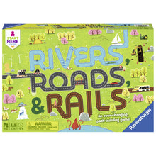 Load image into Gallery viewer, Rivers, Roads & Rails Board Game