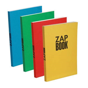 "Zap Book - Sketchbook - Mixed Colours - 6 1/2"" x 8 1/4"""