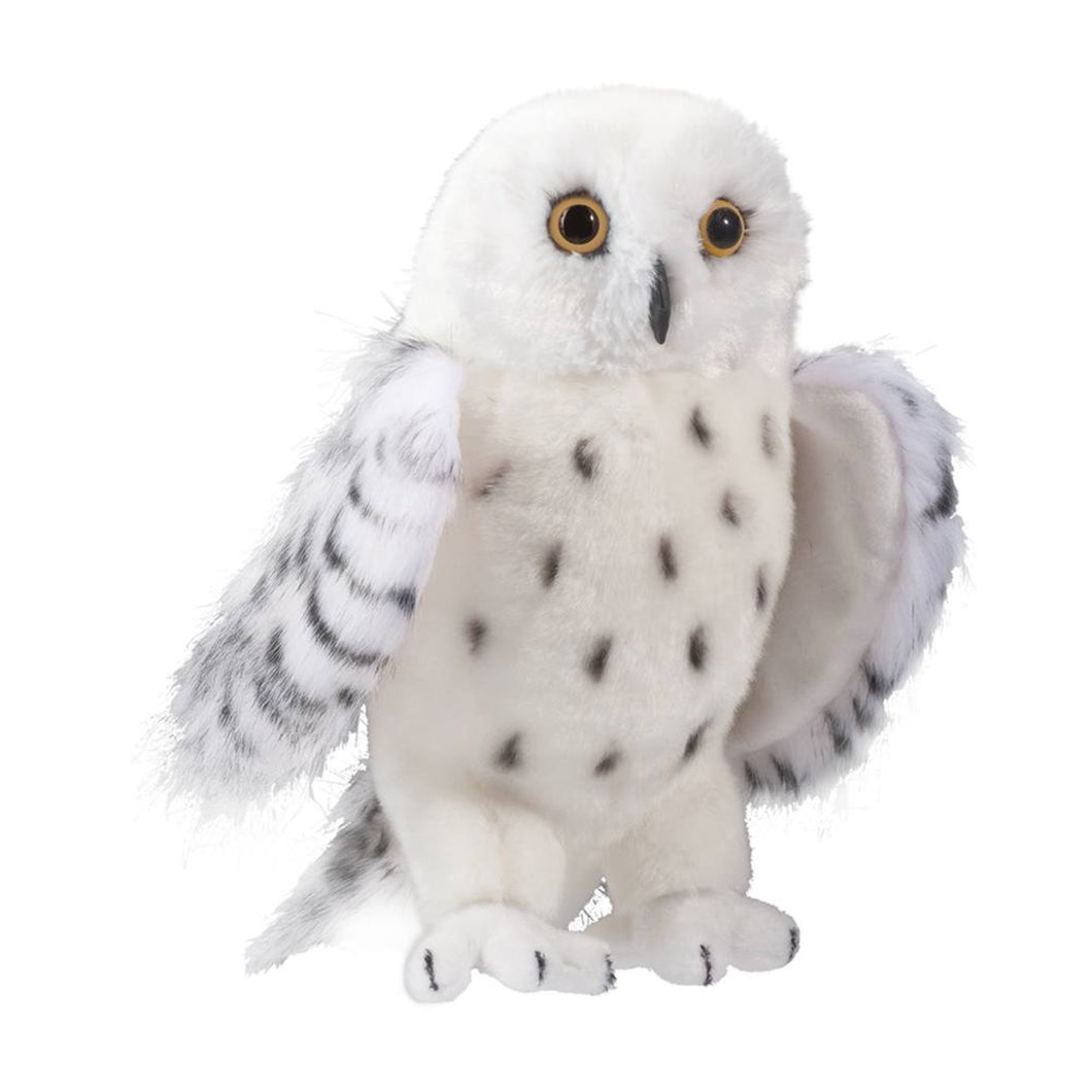 Legend Snowy Plush Owl