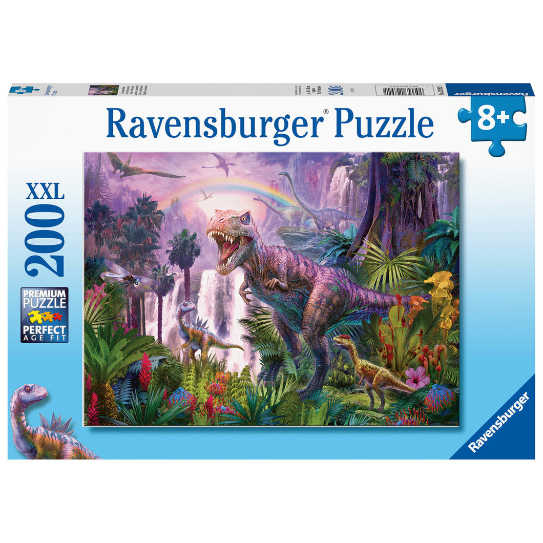 Ravensburger - 200 XXL Puzzle - King of The Dinosaurs